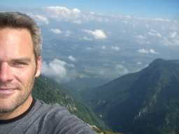 At the Summit - Mt. Hochobir in Southern Austria