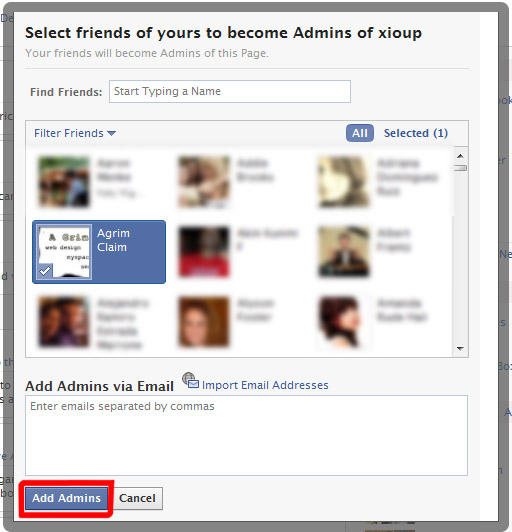 How to add an Administrator to your Facebook Business Page